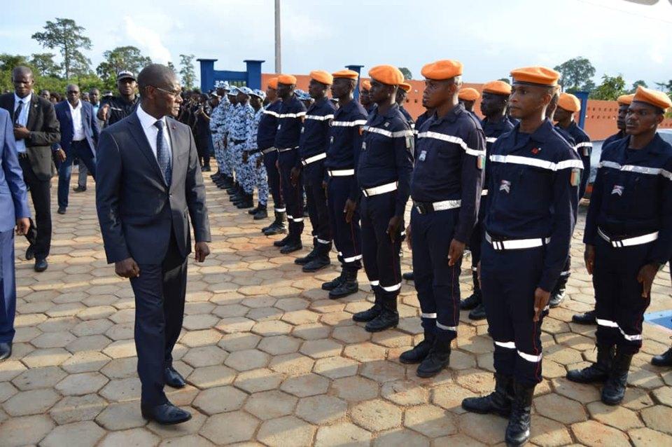 Inauguration du CSU de Toumodi