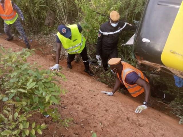 UN ACCIDENT DE LA CIRCULATION FAIT 12 VICTIMES A KATIOLA